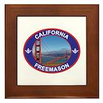The California Freemason Framed Tile