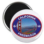 The California Freemason Magnet