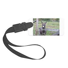 Miniature Donkey II Luggage Tag