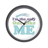 Only One Like Me Wall Clock