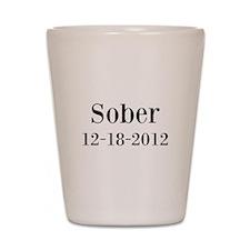 Personalizable Sober Shot Glass