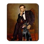 Lincoln's Doberman Mousepad