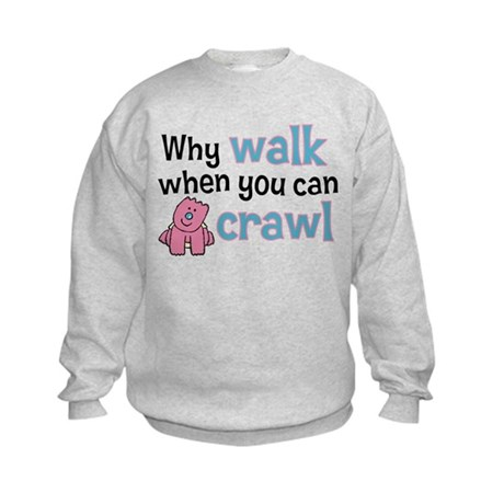 Why Walk Kids Sweatshirt