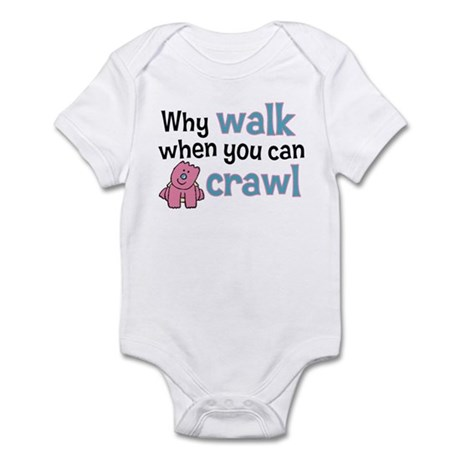 Why Walk Infant Bodysuit