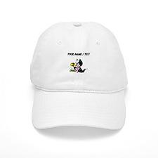 Custom Cat And Mouse Baseball Baseball Cap