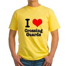 I Heart (Love) Crossing Guards T
