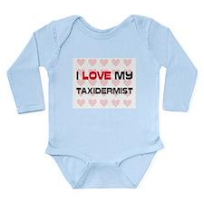 Cute Animals Long Sleeve Infant Bodysuit