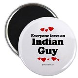 "Everyone loves an Indian guy 2.25"" Magnet (10 pack"