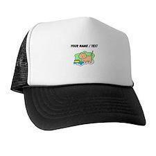 Custom Cat And Food Trucker Hat