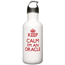 Keep calm I'm an Oracl Sports Water Bottle
