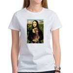 Mona's Red Doberman Women's T-Shirt