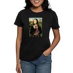 Mona's Red Doberman Women's Dark T-Shirt