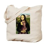 Mona's Red Doberman Tote Bag