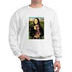 Mona's Red Doberman Sweatshirt