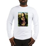 Mona's Red Doberman Long Sleeve T-Shirt