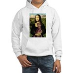 Mona's Red Doberman Hooded Sweatshirt