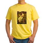 Windflowers / Dobie (#8) Yellow T-Shirt