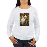 Windflowers / Dobie (#8) Women's Long Sleeve T-Shi