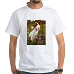 Windflowers / Dobie (#8) White T-Shirt