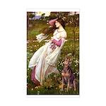 Windflowers / Dobie (#8) Sticker (Rectangle)