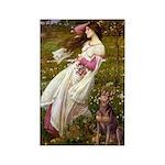 Windflowers / Dobie (#8) Rectangle Magnet (10 pack