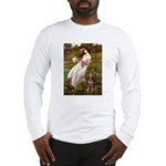 Windflowers / Dobie (#8) Long Sleeve T-Shirt
