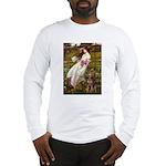Windflowers / Dobie (#8) Long Sleeve T-Shirt
