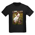 Windflowers / Dobie (#8) Kids Dark T-Shirt