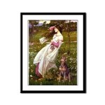 Windflowers / Dobie (#8) Framed Panel Print