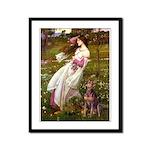 Windflowers / Dobie (#8) Framed Panel Print