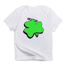 Shamrock With Pin Infant T-Shirt