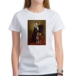 Lincoln's Red Doberman Women's T-Shirt