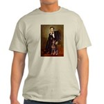 Lincoln's Red Doberman Light T-Shirt
