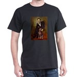 Lincoln's Red Doberman Dark T-Shirt