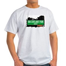 Van Cortlandt Park South, Bronx, NYC  T-Shirt