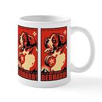 Obey the Saint Bernard! Propaganda Mug