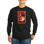 Saint Bernard! Long Sleeve Dark T-Shirt