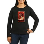 St. Bernard! Women's Long Sleeve Dark Tee