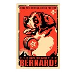 Obey the Saint Berrnard! Postcards (Package of 8)