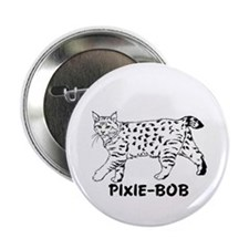 "Pixie-Bob 2.25"" Button (100 pack)"