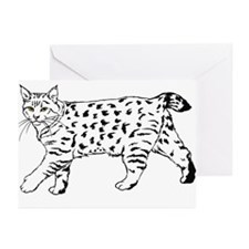 Pixie-Bob Greeting Cards (Pk of 10)