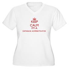 Keep calm I'm a Database Adminis Plus Size T-Shirt