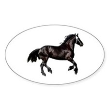 """FRiesian 9"" Oval Decal"