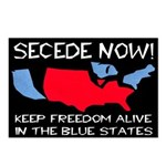 Eight Secede Now New Map Postcards