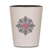 The Tudor Rose Pink Diamond Shot Glass