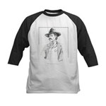 Old Time Lawman Kids Baseball Jersey