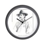 Old Time Lawman Wall Clock