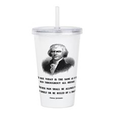 Cute Election Acrylic Double-wall Tumbler