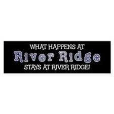 River Ridge 1 - Bumper Bumper Sticker