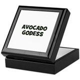 avocado Godess Keepsake Box
